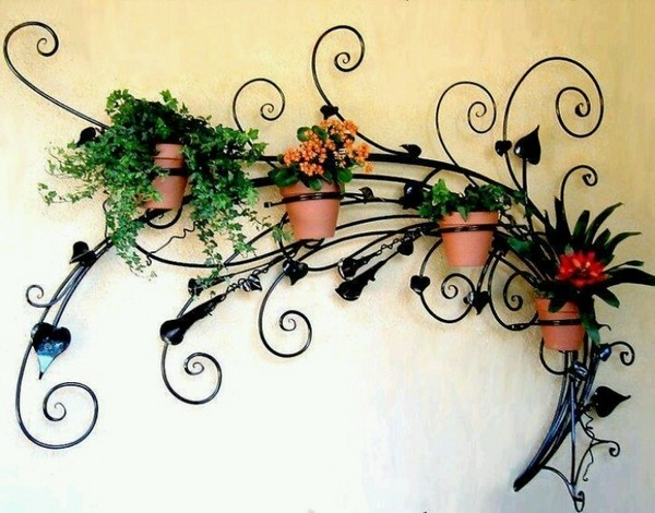 Wrought iron wall decor adds elegance to your home on Iron Stand Ideas  id=38494