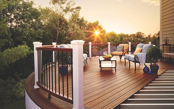 Trex decking - durability and visual aesthetics for your patio on Patio Renovation Ideas id=30262