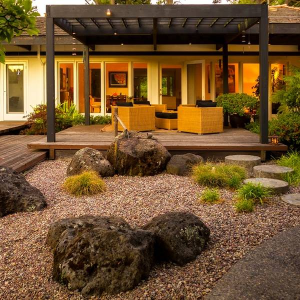 Japanese garden design in the patio - an oasis of harmony ... on Backyard Japanese Garden Design Ideas id=66464