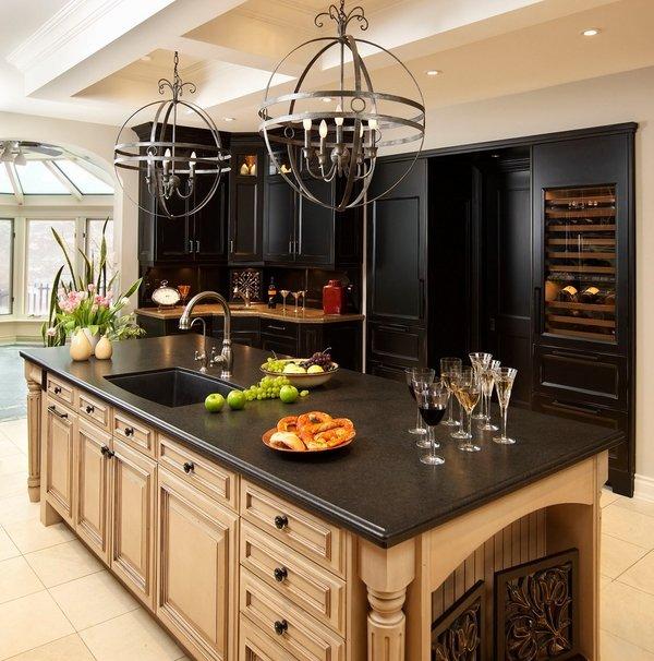Black pearl granite countertops - choosing a luxury ... on Kitchens With Black Granite Countertops  id=72735