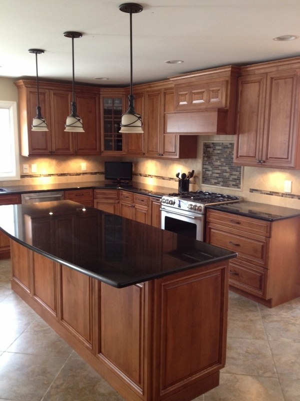 Black pearl granite countertops - choosing a luxury ... on Dark Granite Countertops With Dark Cabinets  id=29552