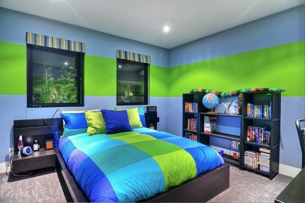 Modern and cool teenage bedroom ideas for boys and girls on Teenage Room Colors For Guys  id=43049