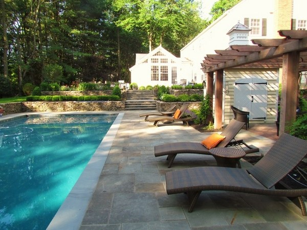 30 Beautiful stamped concrete patios ideas and lovely ... on Pool Deck Patio Ideas  id=37488