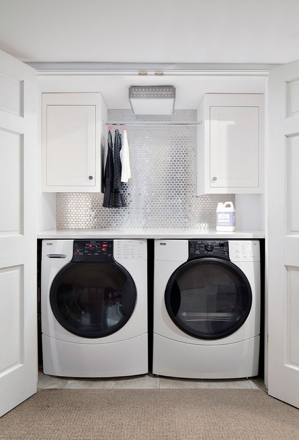 15 Laundry room ideas and tips for the functional use of space on Small Laundry Room Cabinets  id=14730