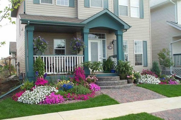 Creative solutions and landscaping ideas for small front yards on Landscape Design Small Area id=95065