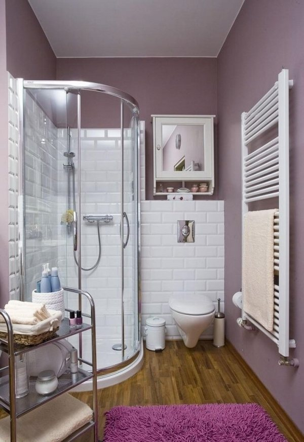 Small shower ideas for bathrooms with limited space on Small Bathroom Ideas With Shower Only id=41470