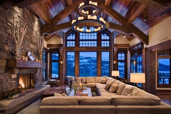 rustic living room decor ideas tips