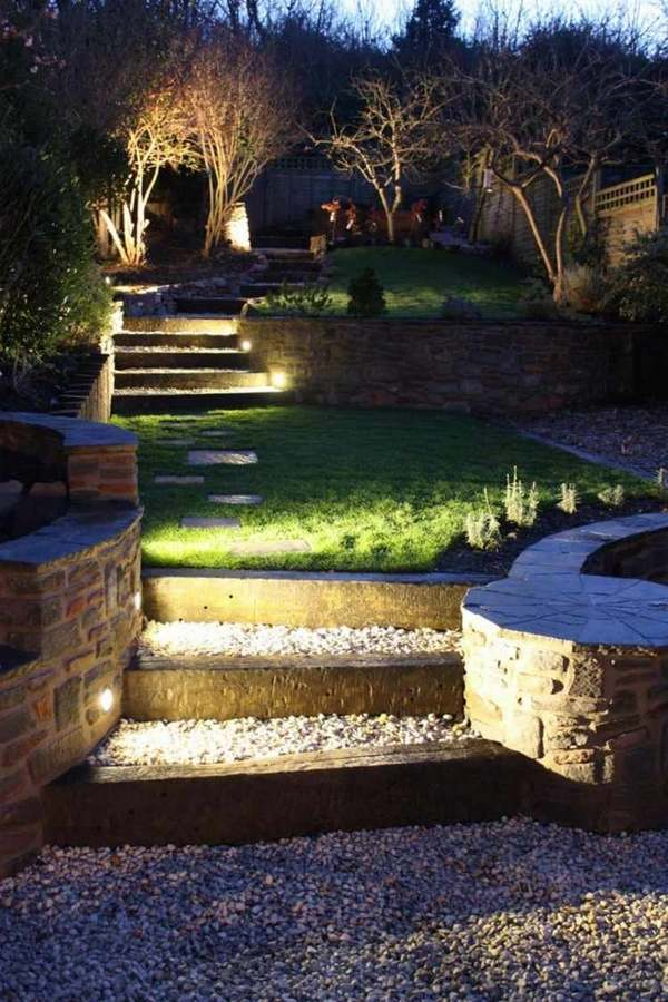 Large Outdoor Solar Lights