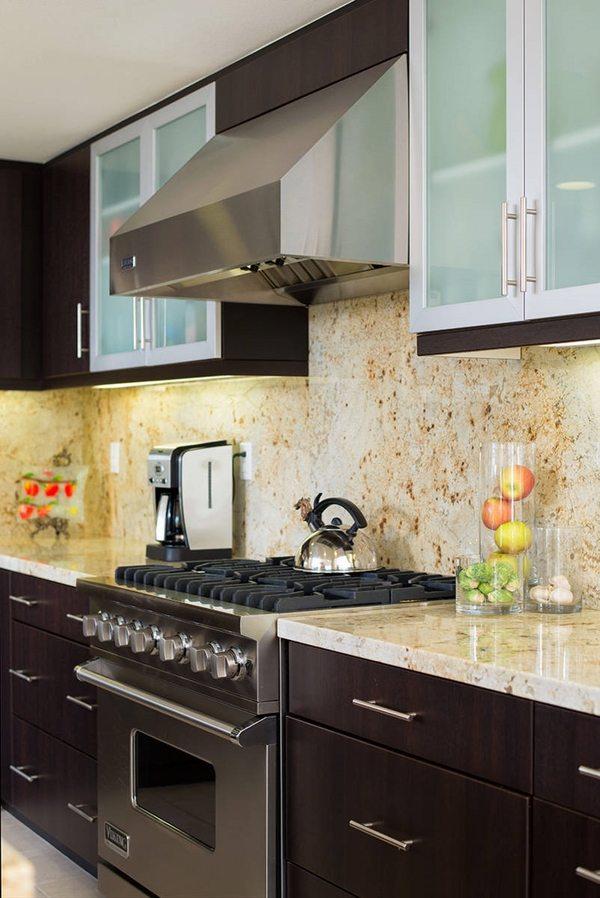 Installing a granite backsplash - a good or a bad idea? on Granite Countertops With Backsplash  id=65961