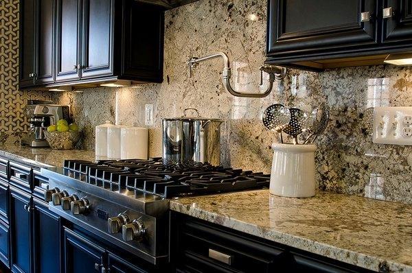 Installing a granite backsplash - a good or a bad idea? on Granite Stove Backsplash  id=27675