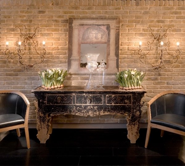 Beautiful faux brick walls - how to use them in the interior on Brick Wall Decorating Ideas  id=74477