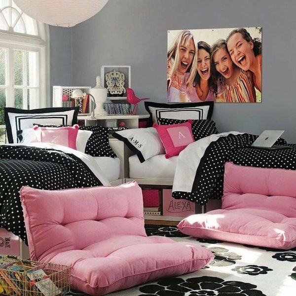 Glamorous and stylish bedroom ideas for teenage girls on Room Decor For Teenagers  id=20288