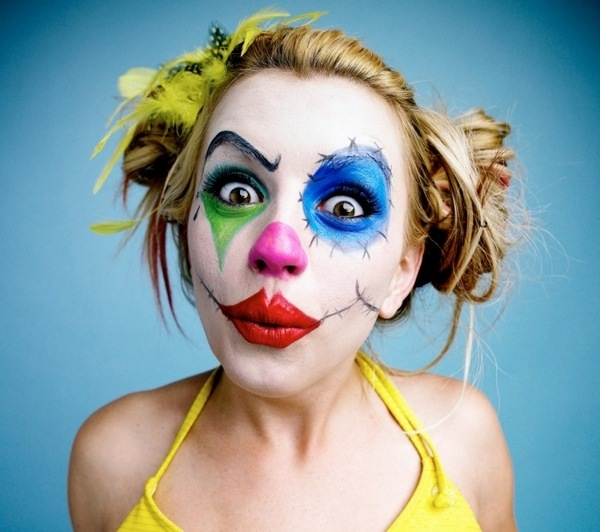 Clown Makeup Ideas For Halloween And