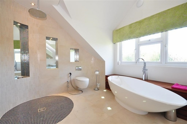 Wet room design ideas - the pros and cons of having a wet room on Wet Room With Freestanding Tub  id=58781