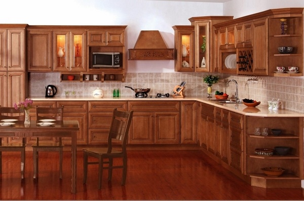 Craftsman kitchen design - what is typical for the ... on Dark Maple Cabinets  id=40404