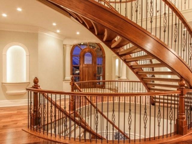 Stair Railing Ideas – Beautiful Designs From Wood And Metal   Wood And Metal Staircase Design   Staircase Ss Handrail   Steel   Modern   Rustic   Fabrication