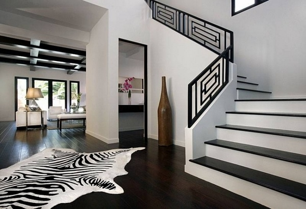 Stair Railing Ideas – Beautiful Designs From Wood And Metal   Modern Metal Stair Railing   Interesting   Horizontal Slat   Curved Metal   Low Cost   Before And After