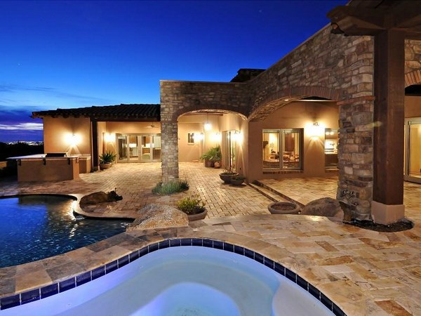 Travertine pavers for patio and driveways - the ideal ... on Travertine Patio Ideas id=31049