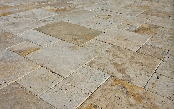 Travertine pavers for patio and driveways - the ideal ... on Travertine Patio Ideas id=93314