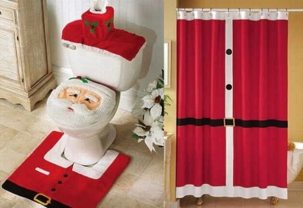 20 christmas shower curtains