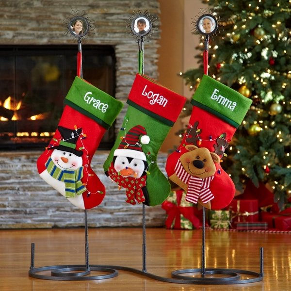 Christmas stocking holders - cool ideas for your Christmas ... on Iron Stand Ideas  id=34876