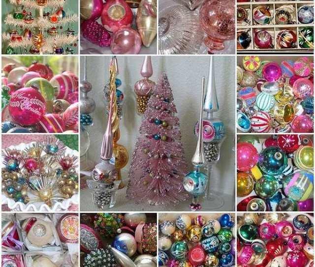 Unique Vintage Christmas Ornaments Christmas Tree Decorating Ideas