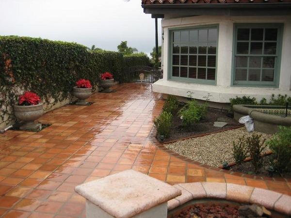 beautiful saltillo tile floor