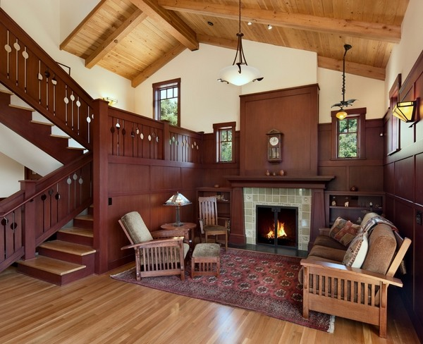 Craftsman Style Homes Exclusive Interiors With A Lot Of Character Deavita