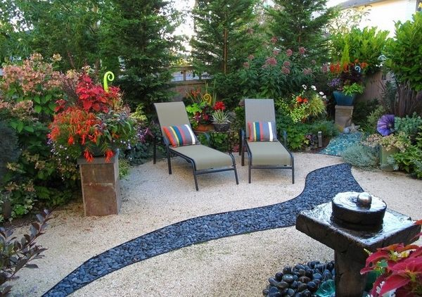 Decomposed granite - garden decoration and landscaping ... on Decomposed Granite Backyard Ideas id=34540