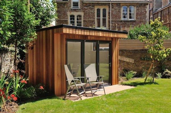 Garden rooms - fantastic landscape and ideas for design ... on Backyard Retreat Ideas id=92991