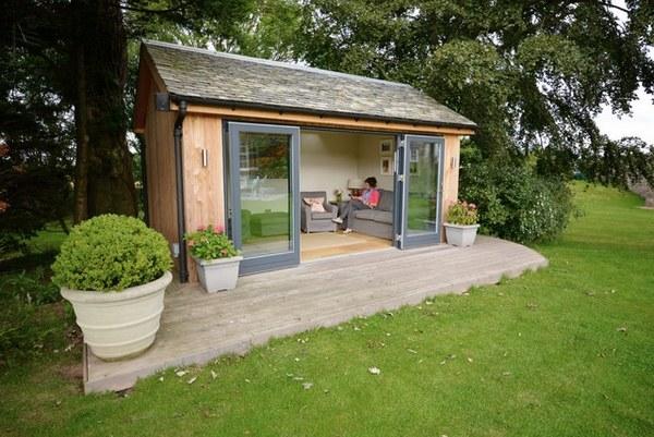 Garden rooms - fantastic landscape and ideas for design ... on Backyard Retreat Ideas id=67027