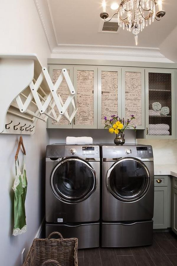 40 small laundry room design ideas - comfortable and ... on Laundry Room Decor Ideas  id=12676