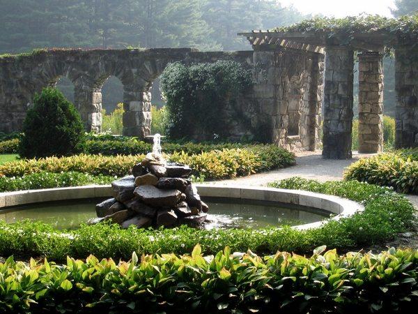 romantic garden fountain Walled garden design ideas – how to create your own secret