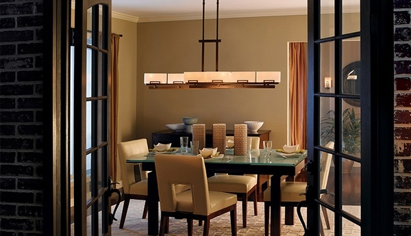 Rectangle Chandelier U2017 Make A Statement In Your Dining Room