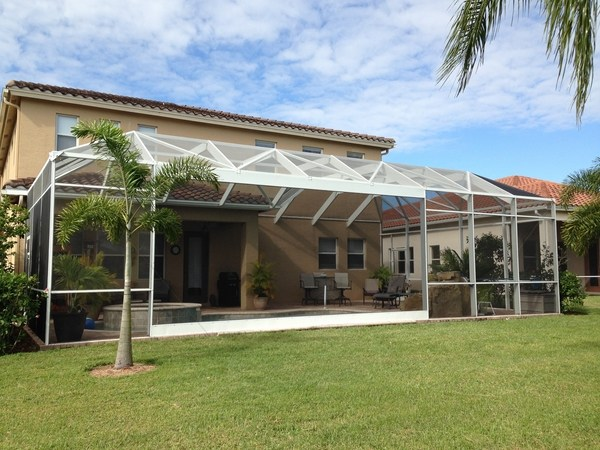 Screen enclosures - enjoy a comfortable outdoor environment on Backyard Patio Enclosure Ideas  id=13549