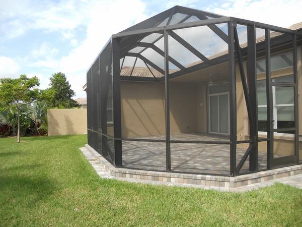 Screen enclosures - enjoy a comfortable outdoor environment on Backyard Patio Enclosure Ideas  id=97755