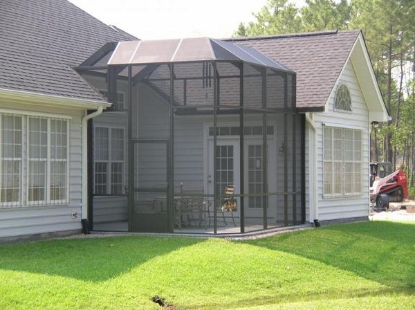 Screen enclosures - enjoy a comfortable outdoor environment on Backyard Patio Enclosure Ideas  id=98425