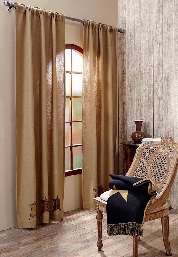 Primitive Curtains Ideas The Charm Of Casual Visual Aesthetics