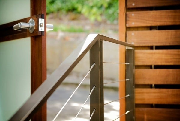 Cable Railing Ideas – Cable Deck Railing And Staircase Design | Metal Wire Stair Railing | Handrail | Contemporary | Balcony | Steel Structure | Indoor