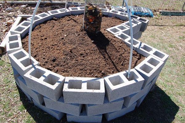 Keyhole Raised Vegetable Garden