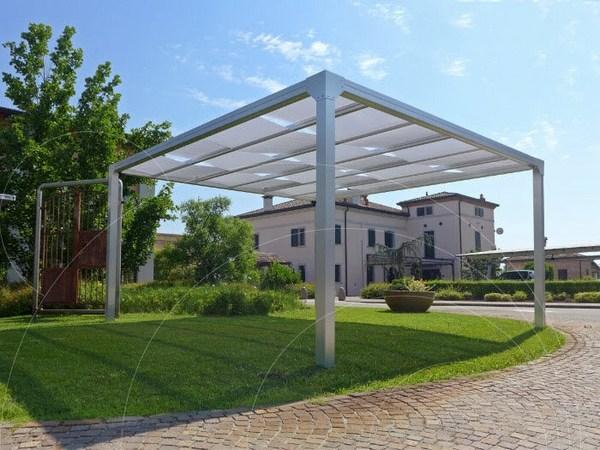 Aluminum pergola ideas - modern pergolas for the outdoor area on Canvas Sun Shade Pergola id=31645