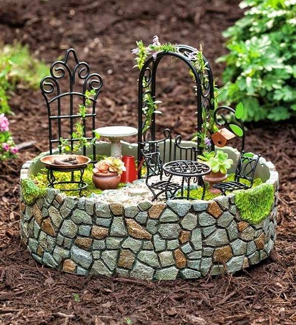 Fairy garden plans and decor ideas - create a magical backyard on Magical Backyard Ideas id=97369
