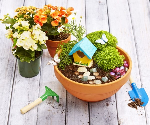 Fairy garden plans and decor ideas - create a magical backyard on Magical Backyard Ideas id=31387
