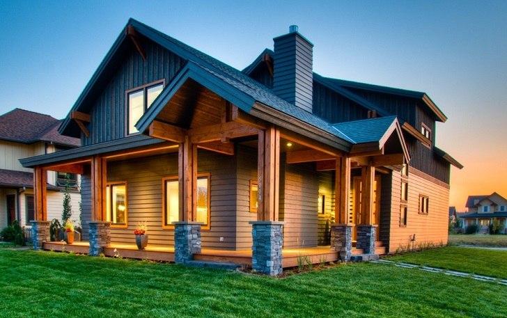 Hardiplank siding - fiber cement siding for a perfect exterior on Modern House Siding Ideas  id=96221
