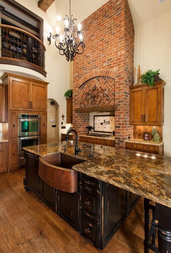 Copper sink - design ideas for modern or rustic kitchen ... on Kitchen Sink Ideas  id=77514
