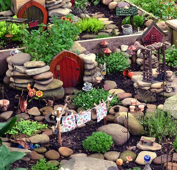 Fairy garden plans and decor ideas - create a magical backyard on Magical Backyard Ideas id=59407