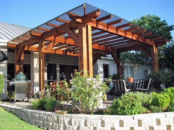 Pergola canopy and pergola covers - patio shade options ... on Covered Pergola Ideas  id=37103