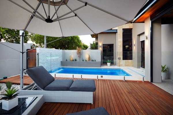 Small plunge pools design ideas - awesome small backyard pools on Modern Backyard Ideas With Pool id=94617