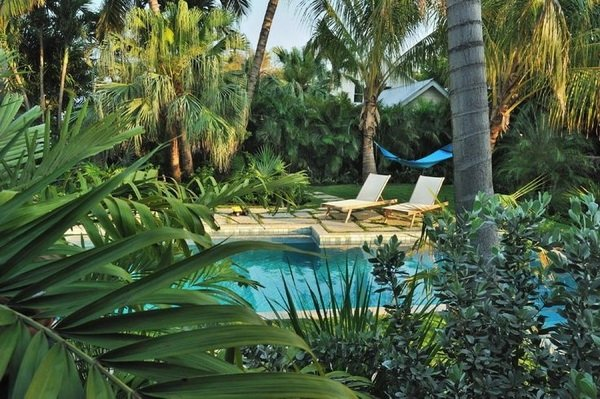 Tropical pools - beautiful and exotic landscape ideas on Tropical Backyard Landscaping  id=45719