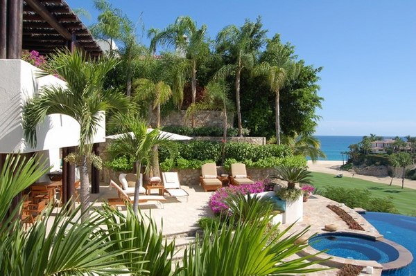 Tropical pools - beautiful and exotic landscape ideas on Tropical Backyard Landscaping  id=86534